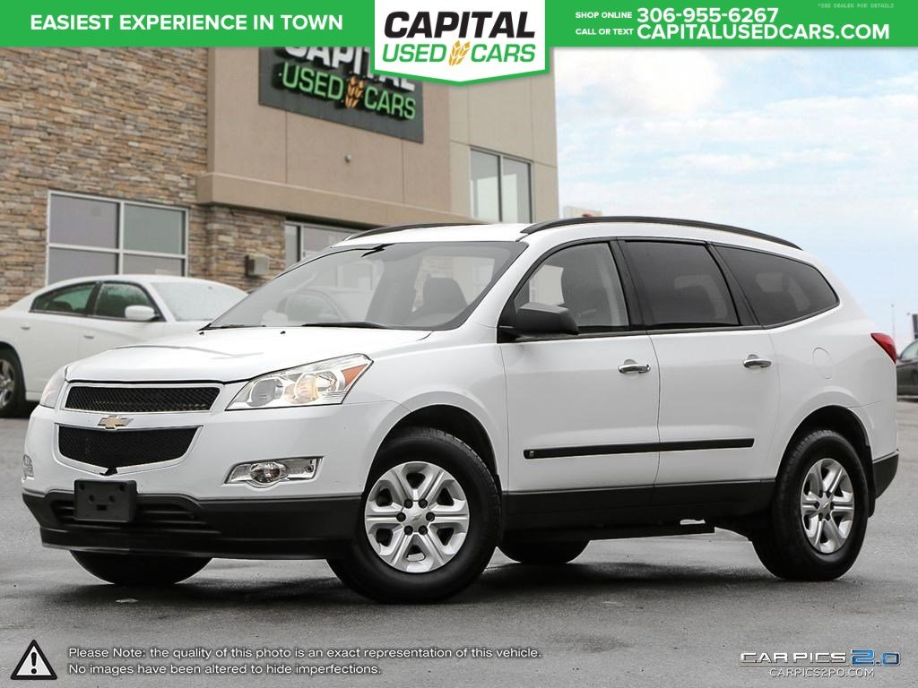Pre Owned 2010 Chevrolet Traverse Ls Pst Paid 3rd Row
